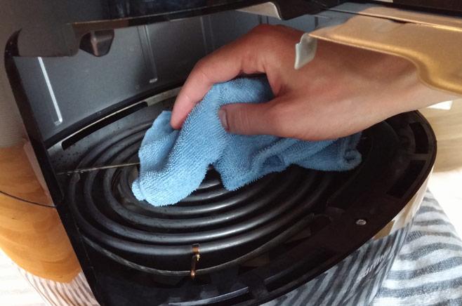 verwarmingselement schoonmaken