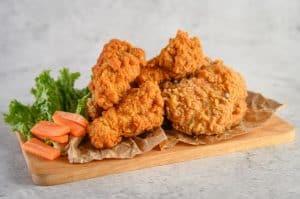 fried chicken in airfryer